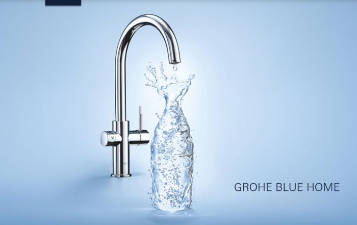 Grohe Blue Wasser mit Kohlensäure